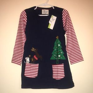 Jumping Meters Christmas Dress